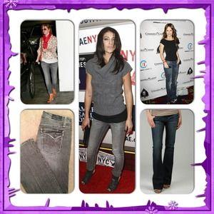 Anoname Denim - Premium Denim Anoname Joelle Boot Cut Jeans Sz 27