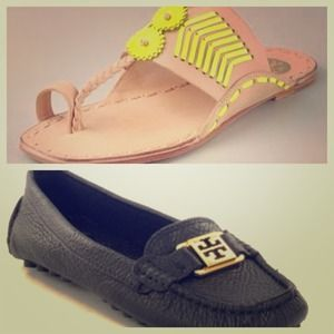 Looking for Tory Burch flats/sandals in Sz 10!!