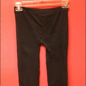 Pants - Grey knee length leggings