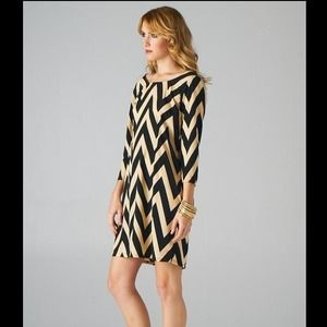 Fabulous chevron dress