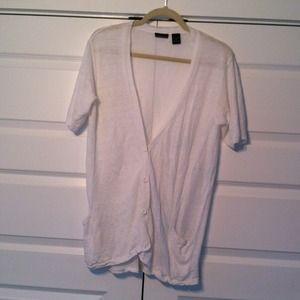 Sweaters - Short sleeve cardigan