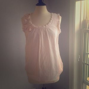 LOFT Tops - *** SOLD*** Romantic peach top
