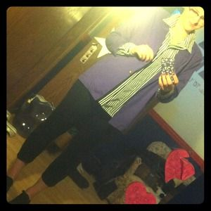Vintage Purple blazer!