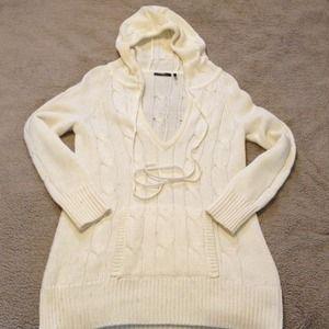 Tan Daisy Fuentes Sweater