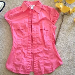 H&M bright pink top