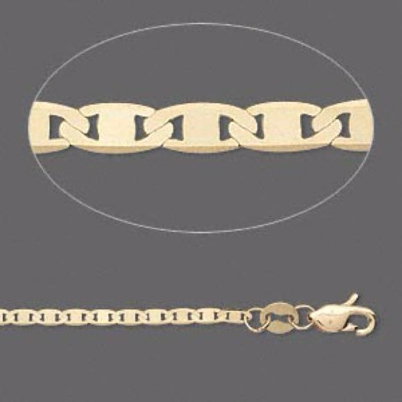 8408cdffe Jewelry | Reserved For Chichariti 14k Gold Flat Gucci Chain | Poshmark