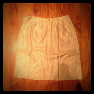 Cache tan & gold skirt. Only worn twice.
