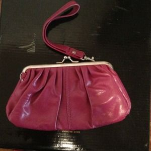 Aldo pink Clutch *Used Once*