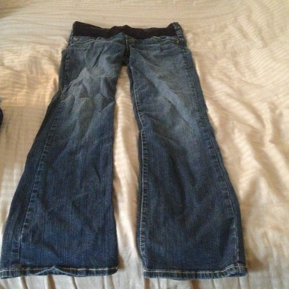 80% off common genes Denim - Maternity jeans from Jayne's closet ...
