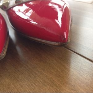 Valentino Shoes - HOLD 🎉 Valentino Rockstud flats red patent