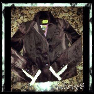Juicy Couture Jackets & Blazers - Authentic JUICY COUTURE velvet blazer sz 4 SEXY 💓