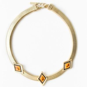 REDUCED! jewel mint Golden Shift Choker