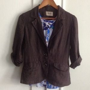 Juicy Couture Jackets & Blazers - ⬇️Juicy Couture cotton linen blazer