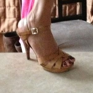 BCBG high heel sandals