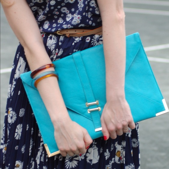 ASOS over sized envelope clutch