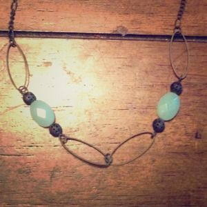 Faux Jade Vintage NecklaceBundled