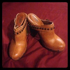 Charlotte Russe Brown Heels
