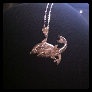 Accessories - Dolphin necklace:)