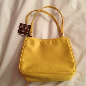 Henri Bendel Yellow Bag