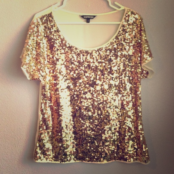 Sequin Gold Top Photo Album - Reikian