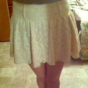 Dresses & Skirts - ☺REDUCED😍Size 3 lace skirt.  Super adorable!☺