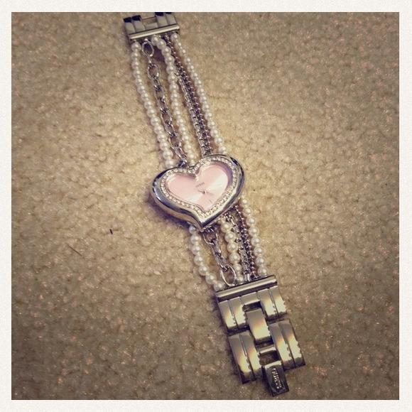 Guess Watch Pearl Bracelet Pearl Bracelet Watch New 4