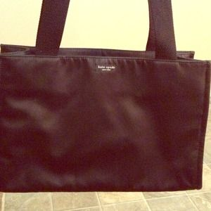 Kate Spade Large Nylon Black Tote/Diaper Bag