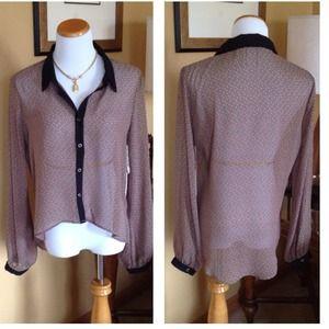 Hi/Lo Brown Shirt