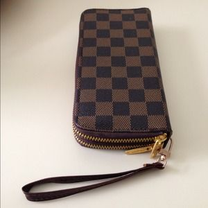 Double Zipper Wallet