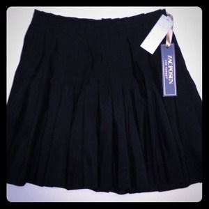 Zac Posen for Target, size 13, black pleated skirt