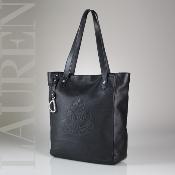 Lauren by Ralph Lauren Putnam leather tote 0938f0d3c9b4c