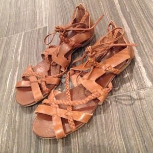 Topshop Shoes - *Reduced* Topshop lace up sandals