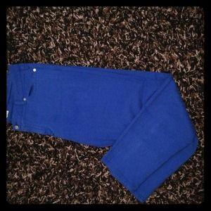 Royal blue Michael Kors jeans
