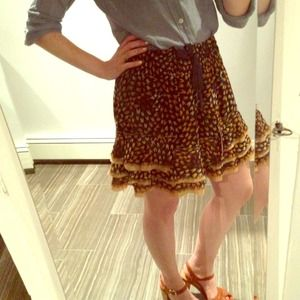 Free People Dresses & Skirts - Free People patterned skirt