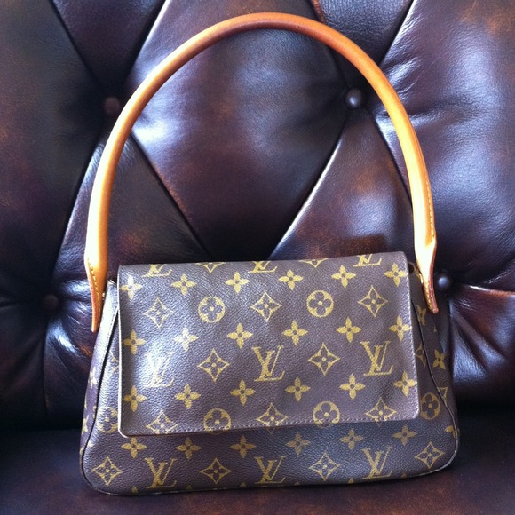 SOLD Authentic Louis Vuitton mini looping bag