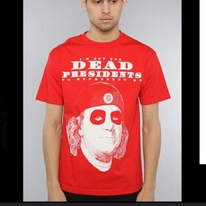 Tops - Red dead presidents t-shirt