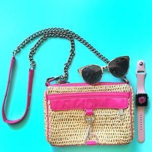 Rebecca Minkoff Handbags - Rebecca Minkoff Mini Mac Straw Pink