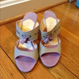Cole Haan Shoes - Cole Haan Lilac colored beautiful heels