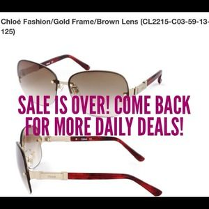 Multiple Chloé Women's Sunglasses With Case
