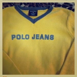 Polo sweater by Ralph Lauren ~