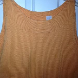 Tops - Cute Tangerine Knit Top - Worn Once - Size Small