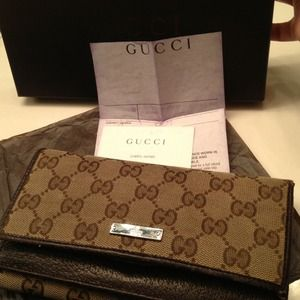Not for sale Authentic Gucci Wallet
