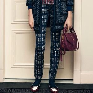 Tory Burch Jeans - Tory burch plaid skinny jean
