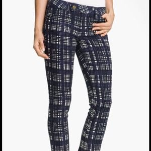 Tory Burch Jeans - Tory burch plaid skinny jean 2