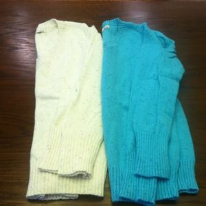 TWO Old Navy sweaters size M.