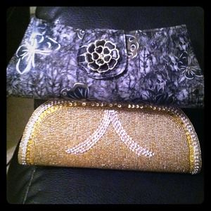 "BUNDLE ""ONE OF A KIND"" clutch!"