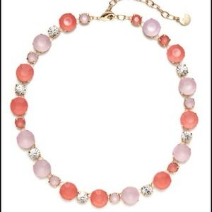 RJ Graziano pink station necklace brand new!