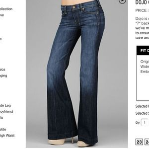 "Seven For All Mankind ""Dojo"" Jeans"