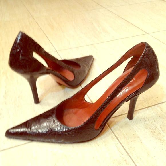 cdb02e0bc23 Donald J. Pliner Shoes - Donald J. Pliner Couture Black Leather Pumps