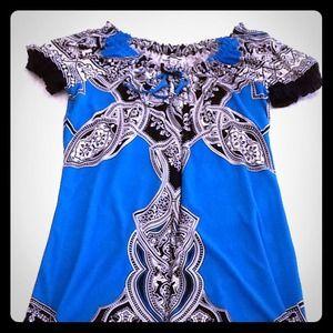 SOLD 💛 Cute Shift Print  Dress 💜